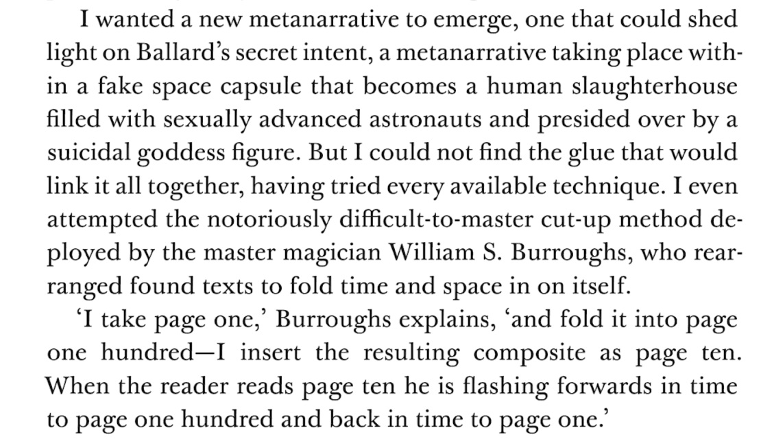 Simon Sellars,  Applied Ballardianism  (2018), page 341
