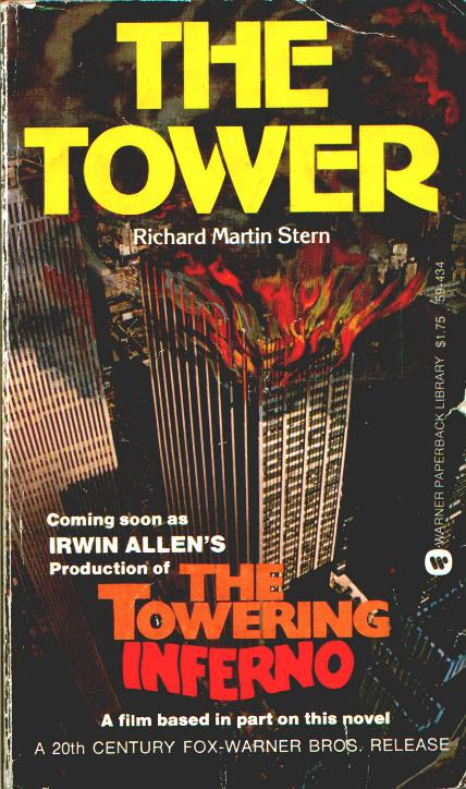 The Tower  (1973), move tie-in cover