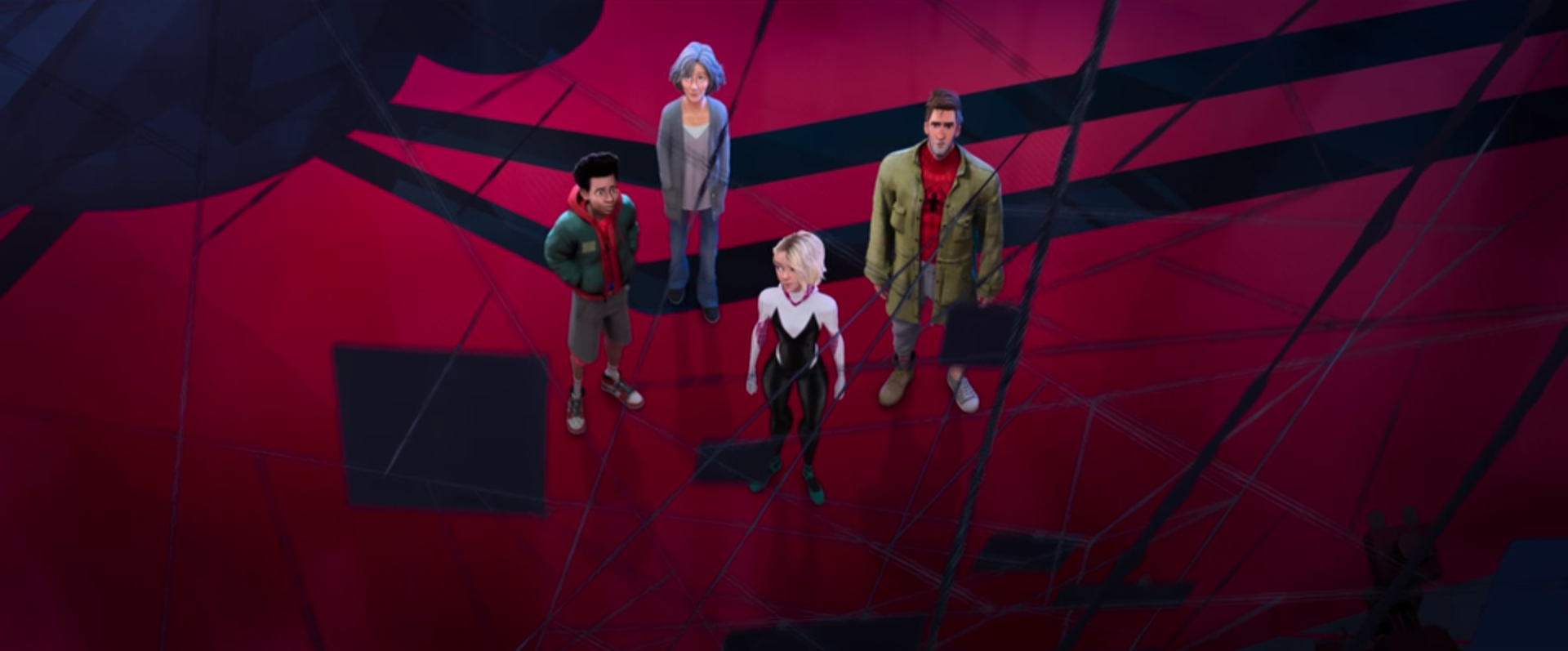 Spider-Man: Into the Spider-Verse  (dirs. Bob Persichetti, Peter Ramsey, and Rodney Rothman, 2018)