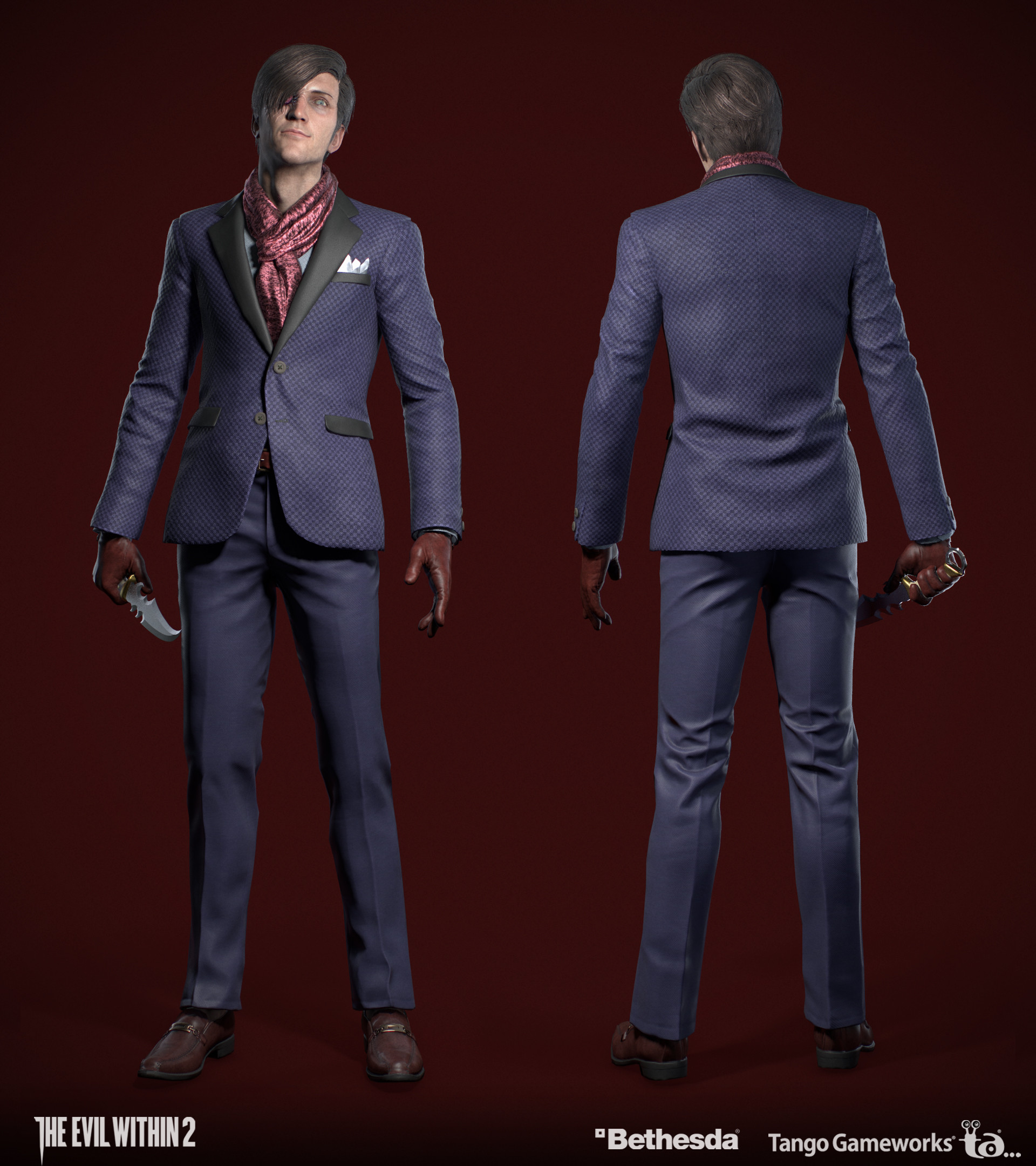 The Evil Within 2  (Bethesda, 2017), Stefano character design by Yoshifumi Hattori