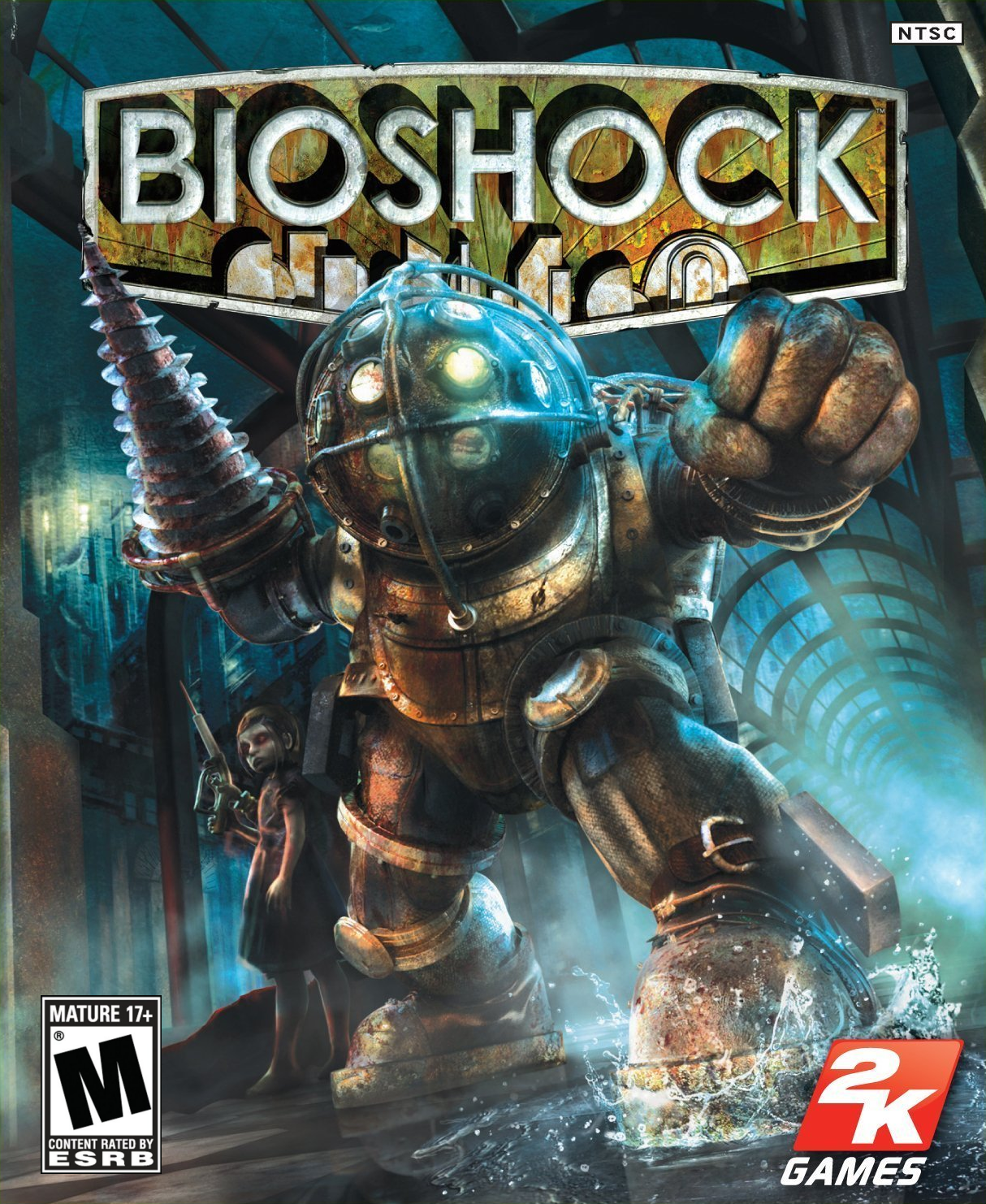 BioShock  (2k Games, 2007), cover