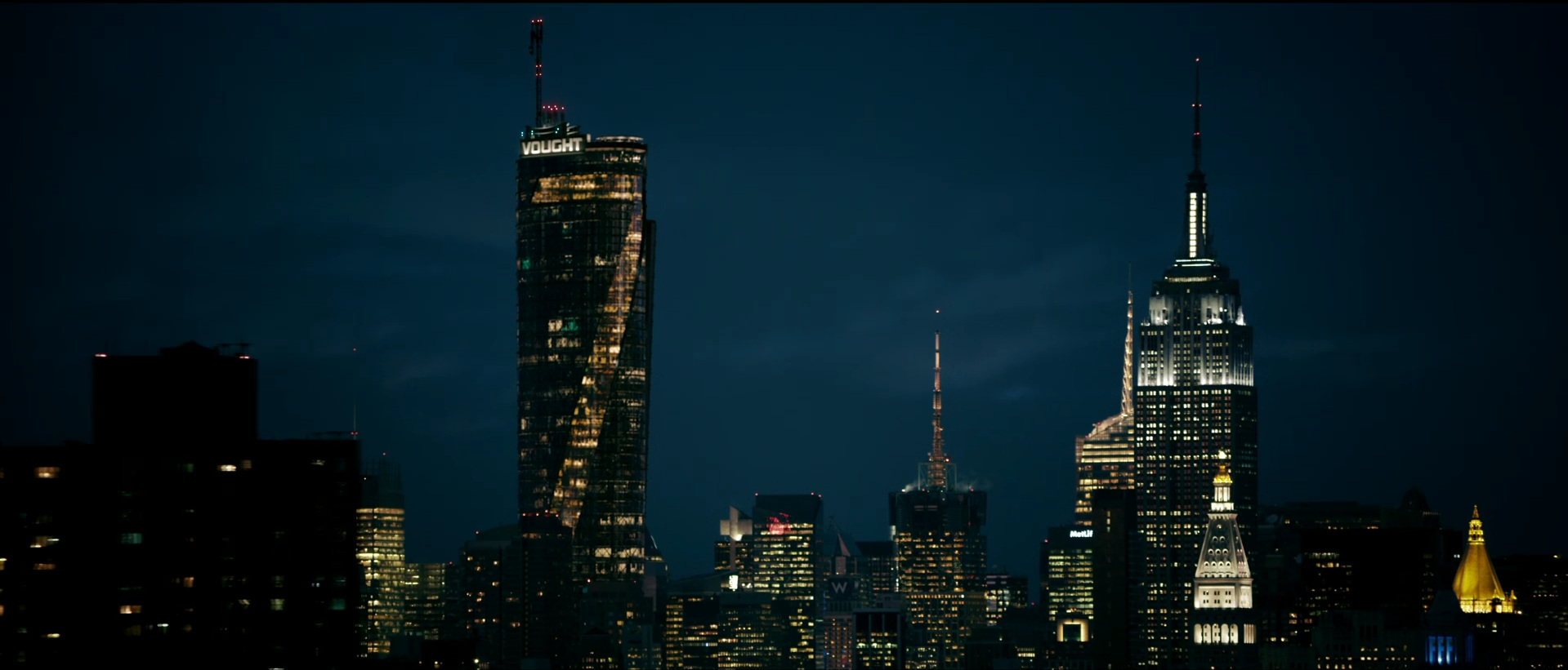 The Boys  s01e08 (Amazon, 2019), The Seven Tower and Empire State Building