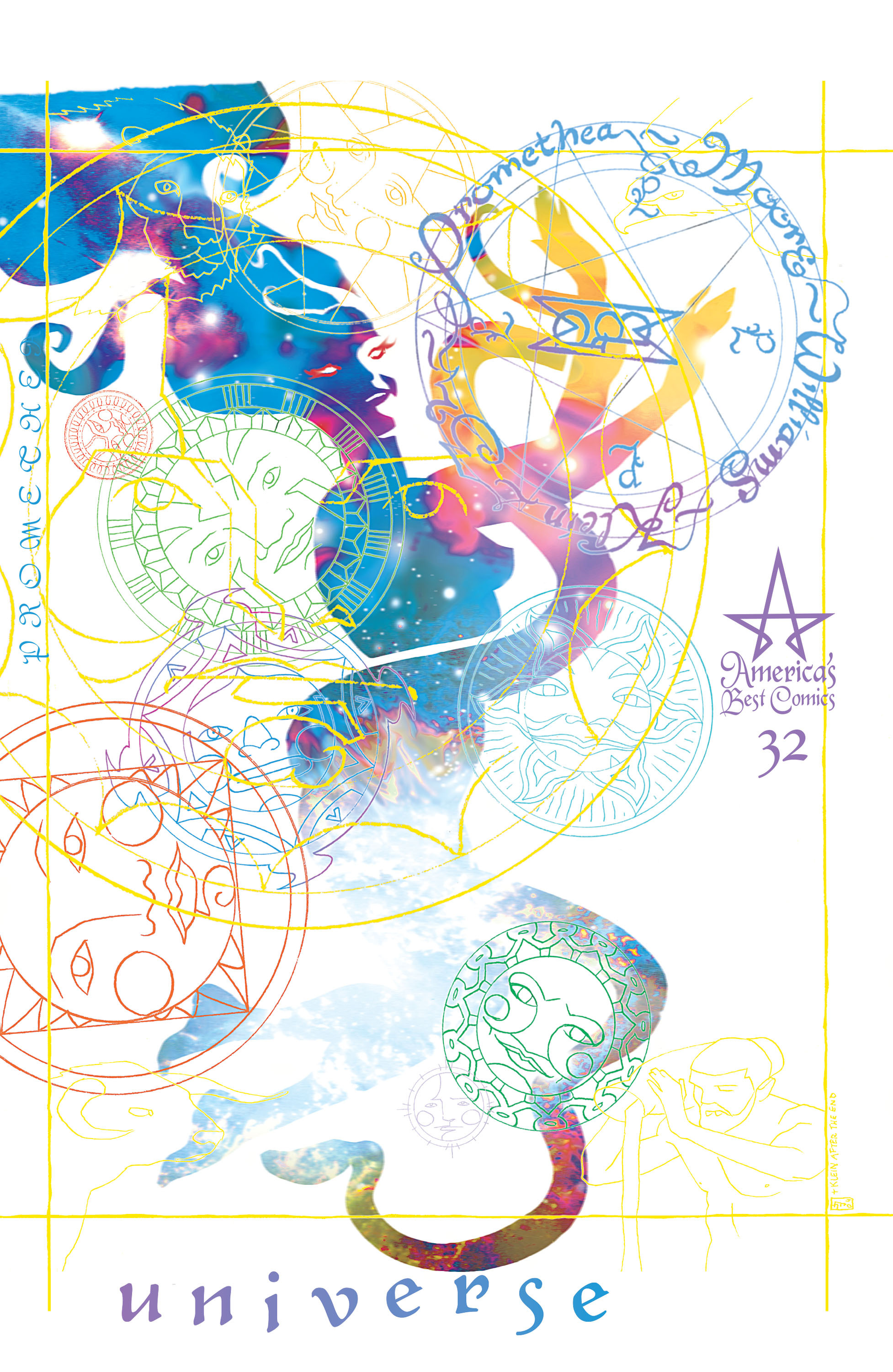 Promethea  #32 (America's Best Comics, April 2005), cover