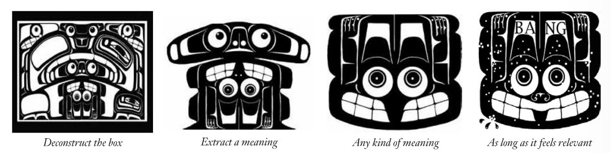"Yahgulanaas, ""Notes on Haida Manga,""  GEIST  (Fall 2008)"