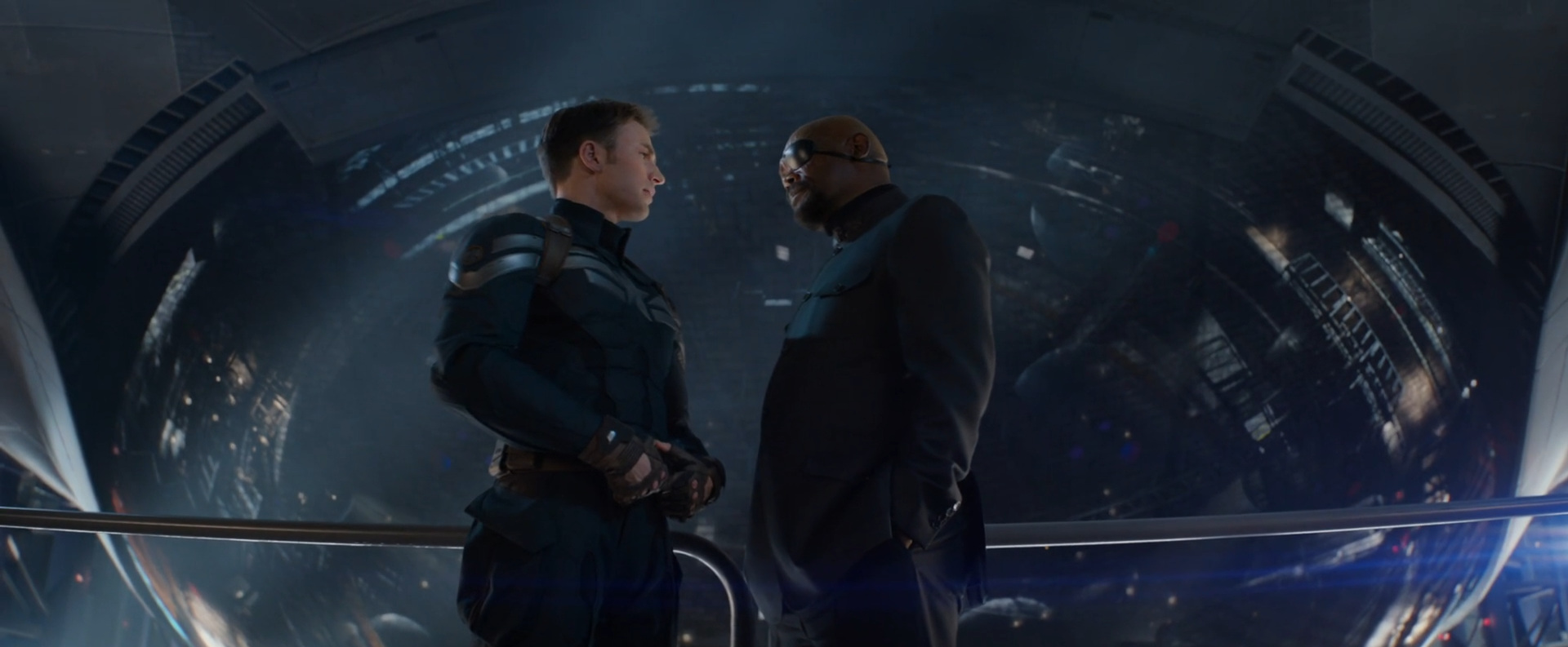 Captain America: Winter Soldier  (2014): freedom versus fear, achieving security in a threatening world