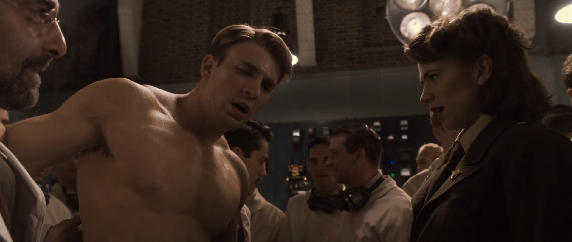 Captain America: The First Avenger  (2011): idealized American hero