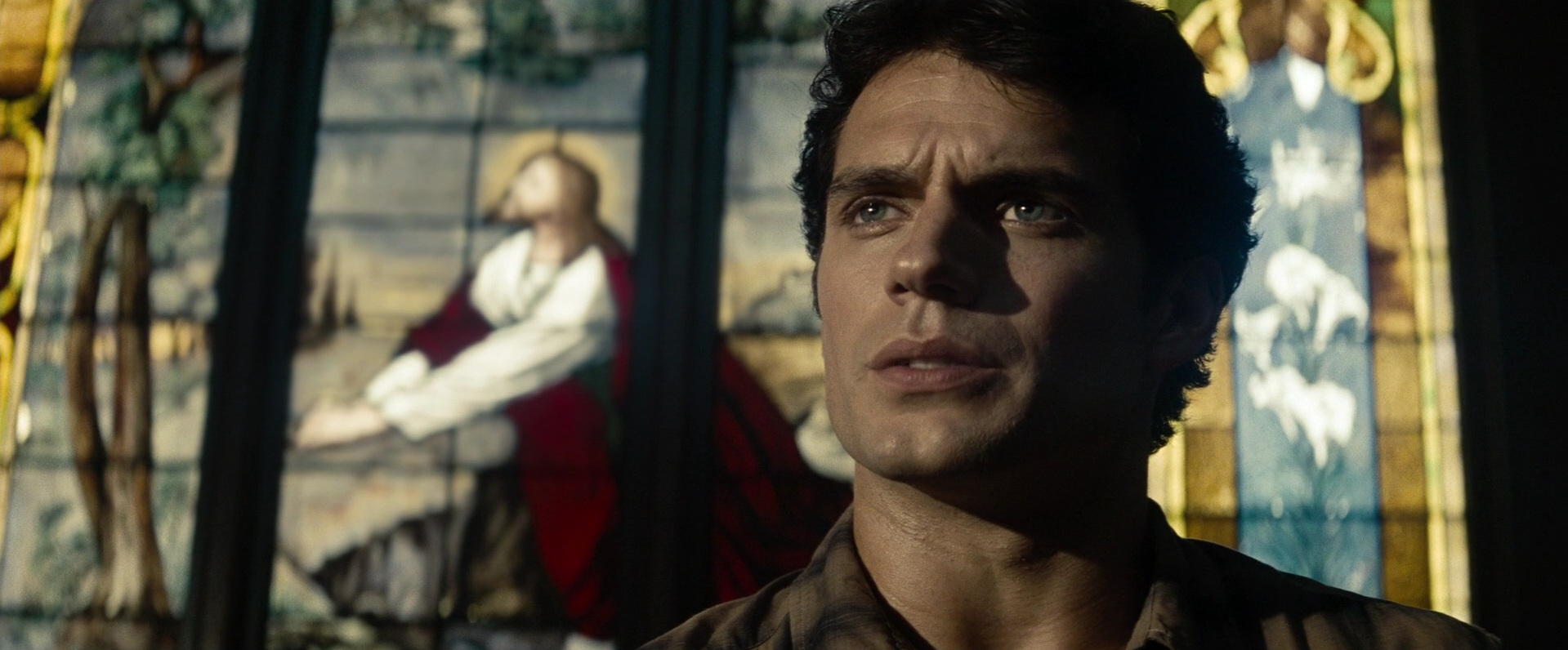 Man of Steel  (2013): Clark with Christ