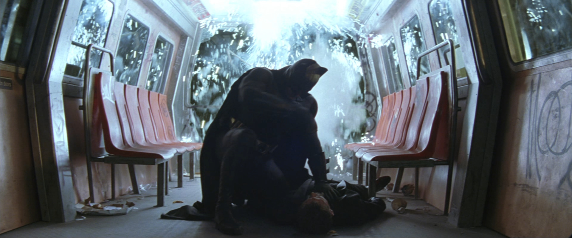 """Batman Begins  (2005): Batman's dubious morality as a reflection of the American approach to the """"global war on terror"""""""