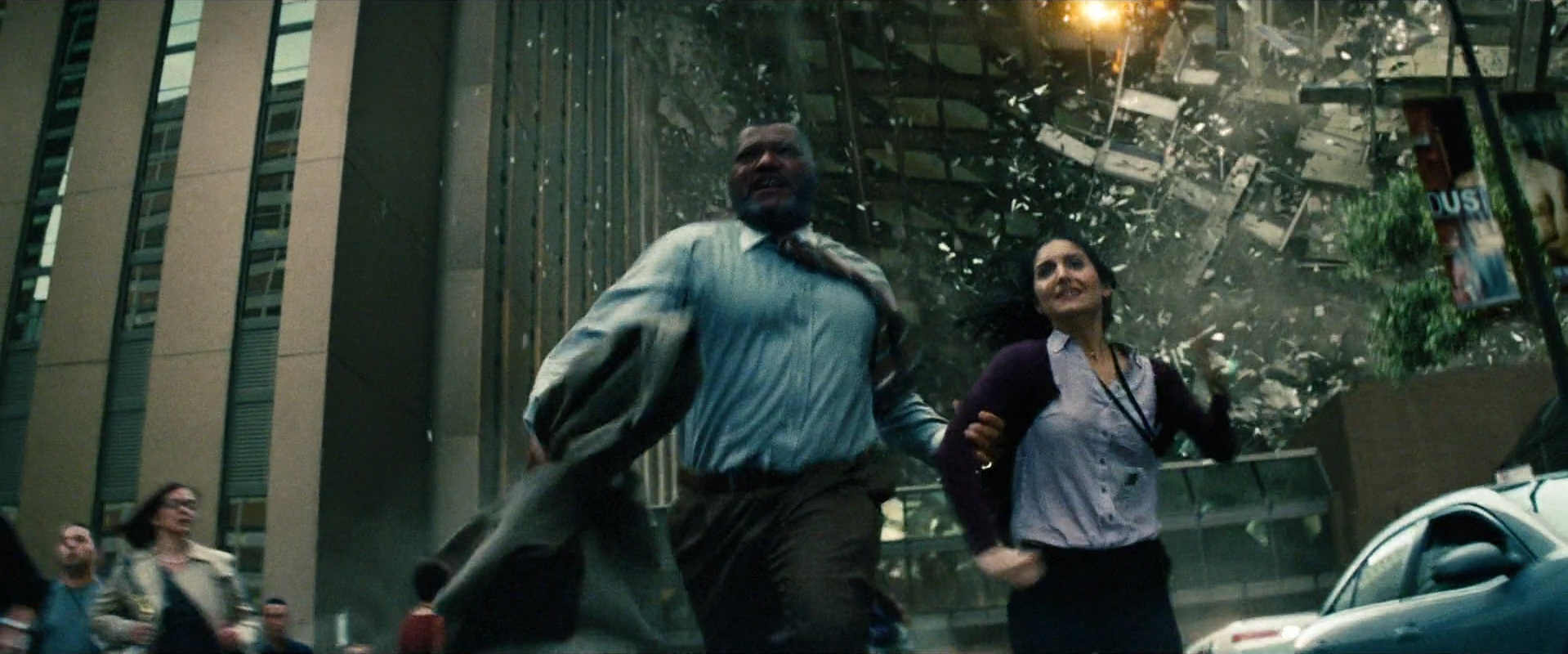 Man of Steel  (2013): catastrophic destruction in Metropolis