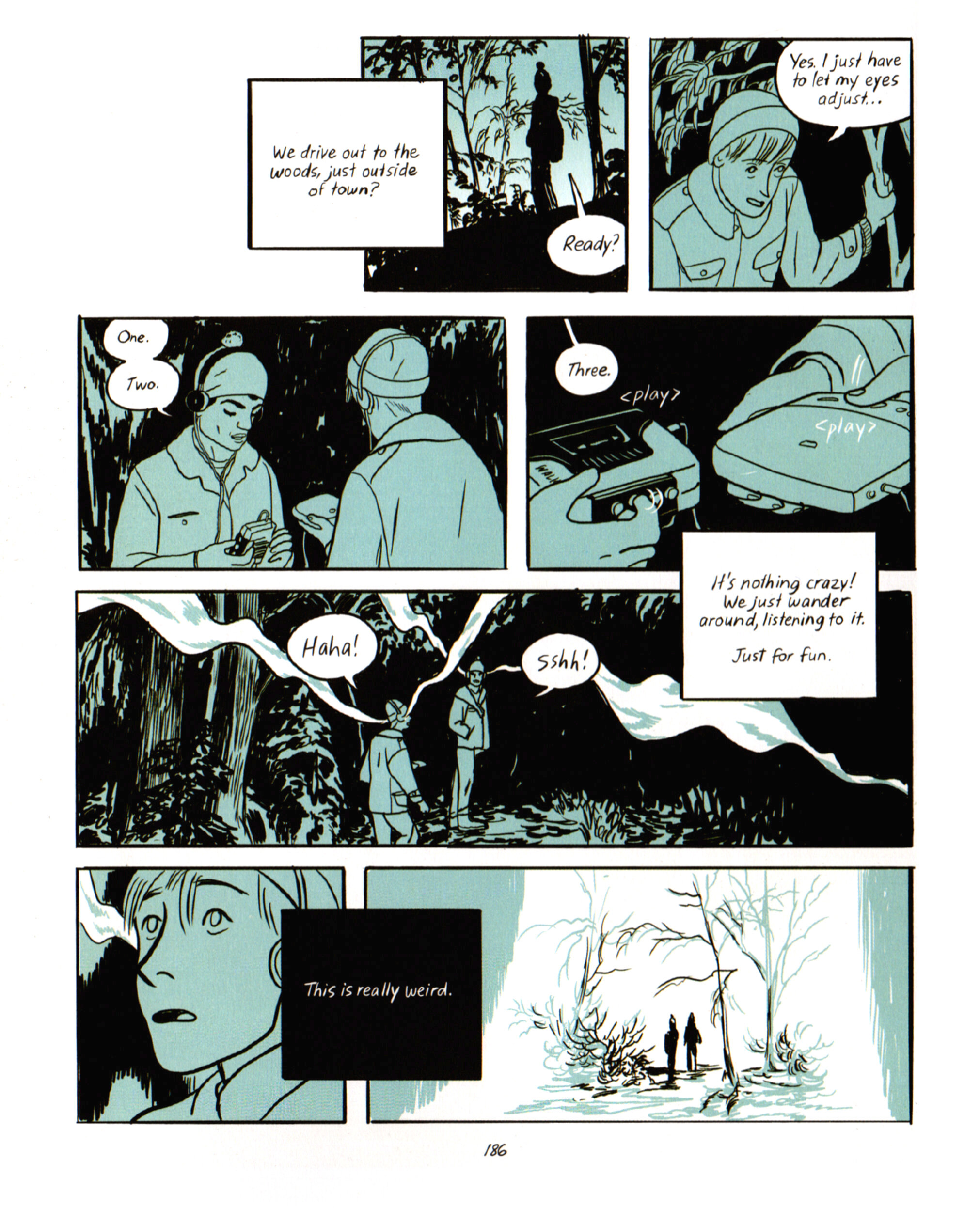 """Jillian Tamaki, """"SexCoven,"""" in  Boundless  (2017), page 186"""