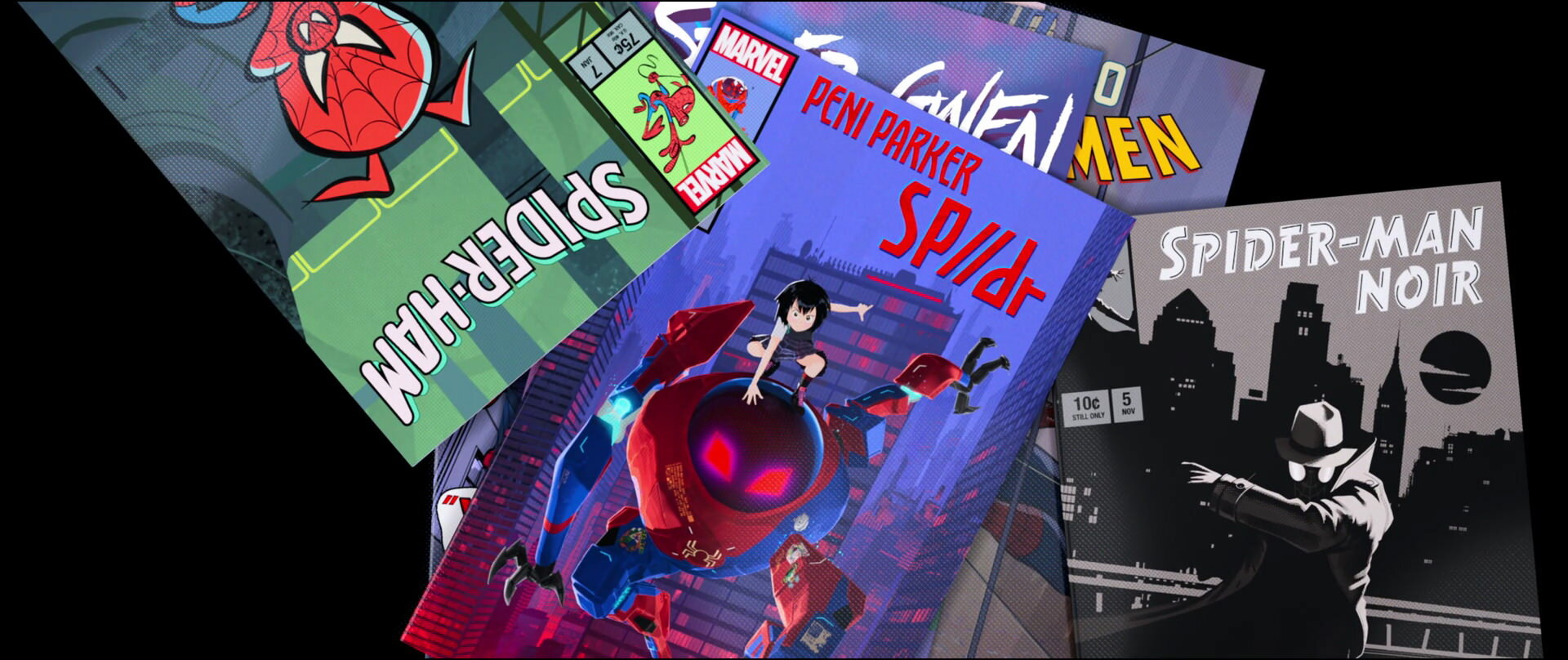 Form And Belonging In Spider Man Into The Spider Verse 2018 The Vault Of Culture