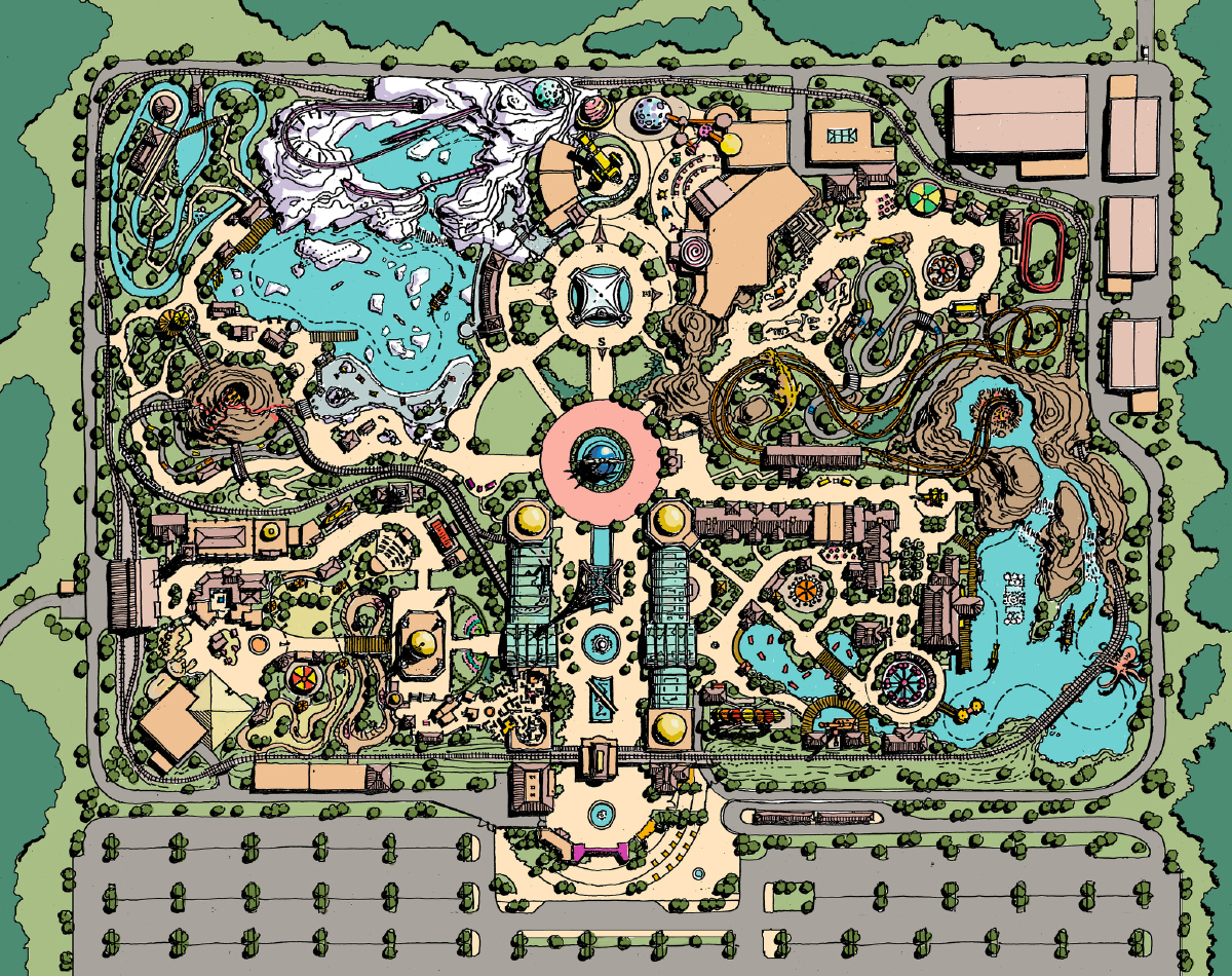 Jules Verne Theme Park