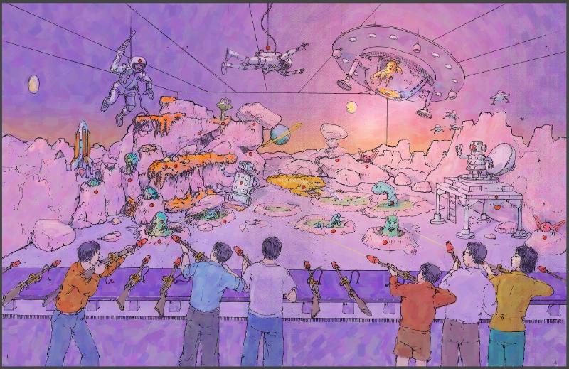 Alien Shooting Gallery