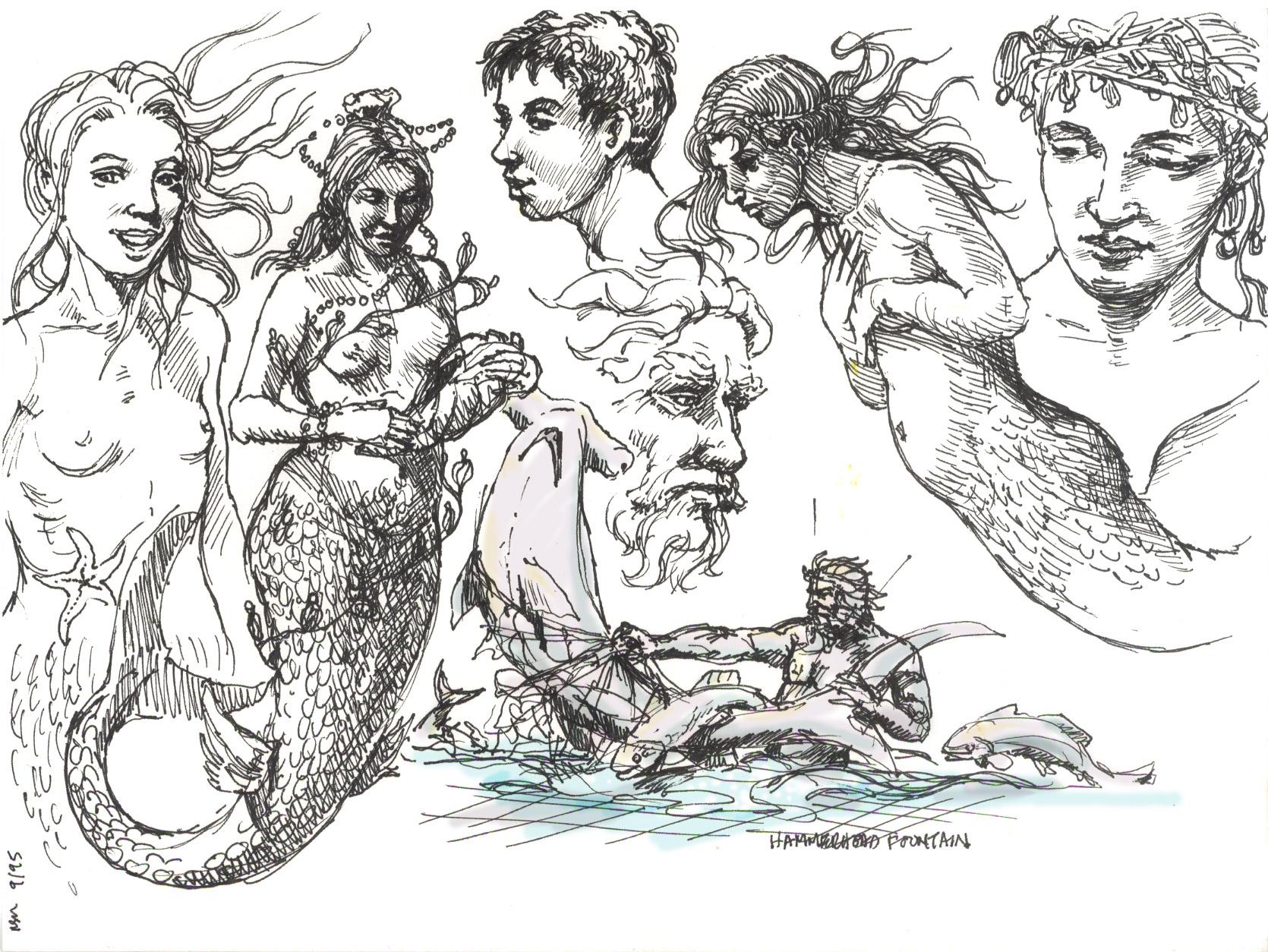 Neptune Mermaid fountain 06 3344790305[K].jpg