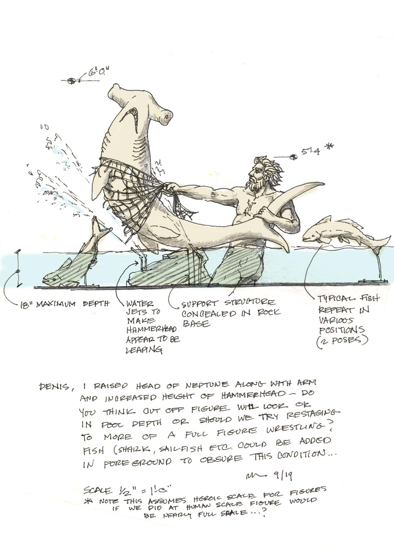 Neptune Mermaid fountain 01 3345622812[K].jpg