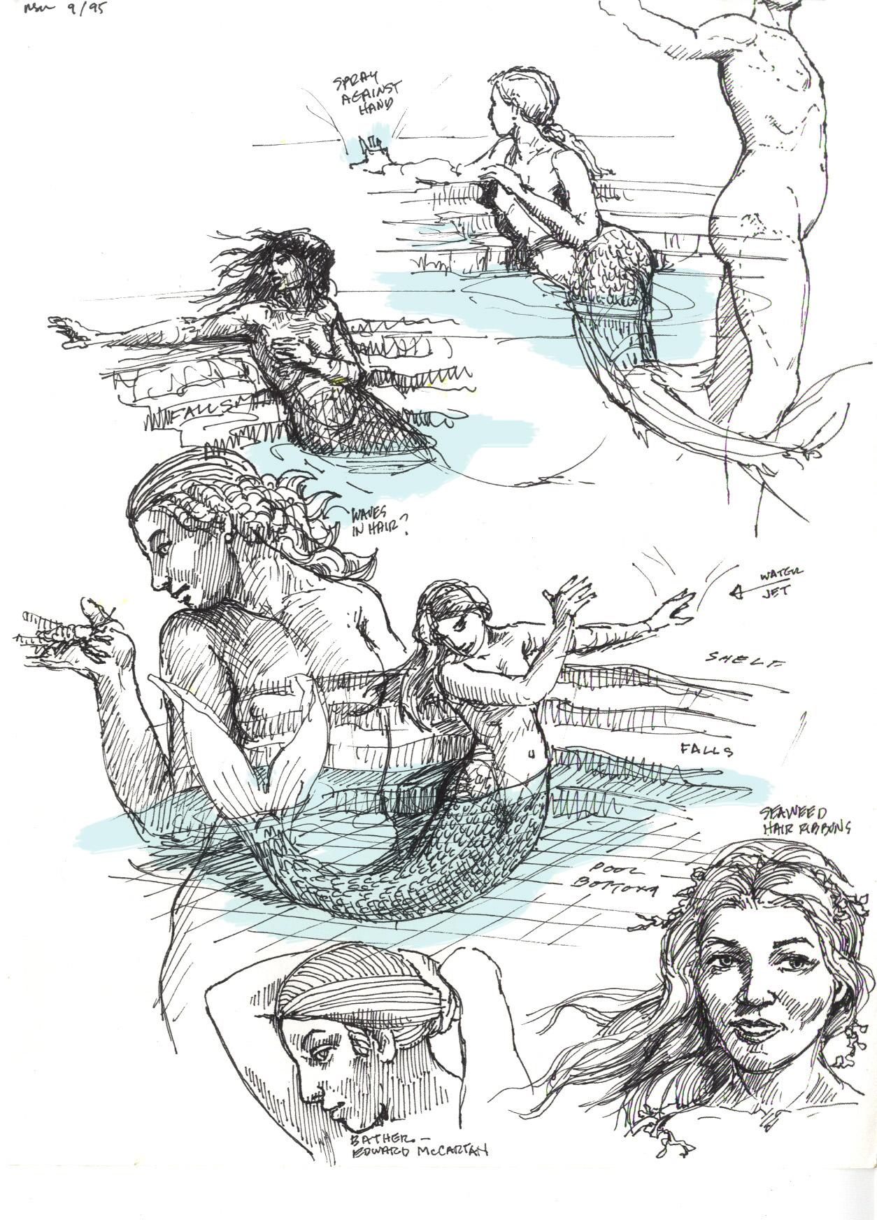 Neptune Mermaid fountain 09 3344791005[K].jpg