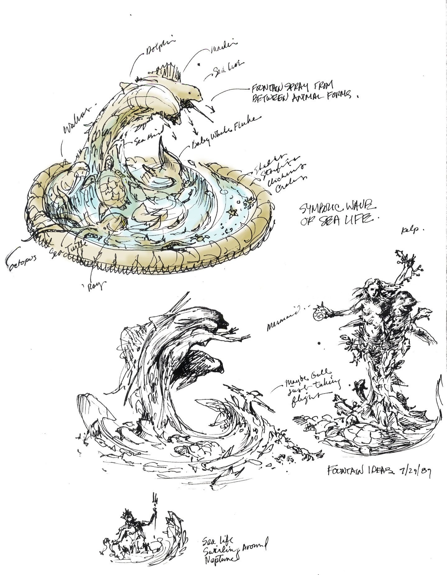 Neptune Mermaid fountain 19 3344792889[K].jpg
