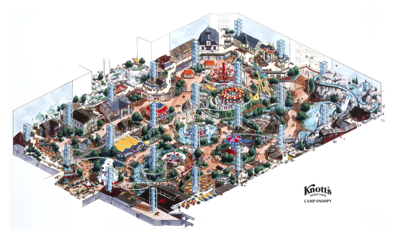 Mall of America, Camp Snoopy