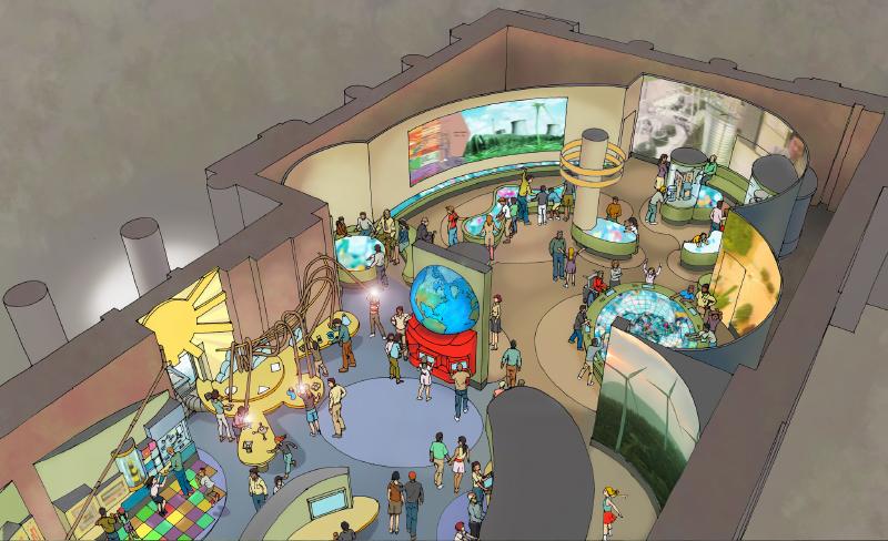 Energy Planet Museum Exhibit