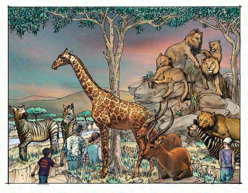 Africa_giraffe_lion rock_color 10063827985[K].JPG