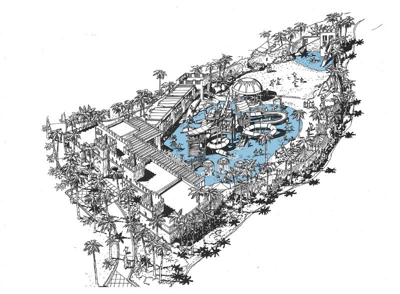 Jumeirah Resort, Kid's Water Park