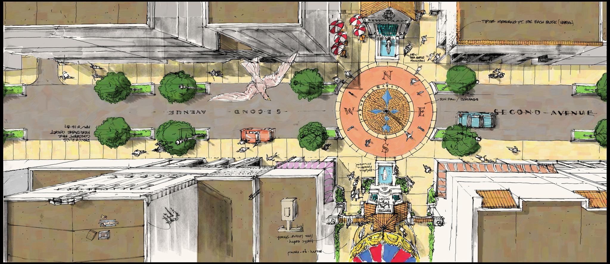 Pomona Downtown Redesign