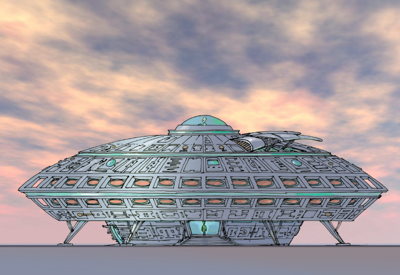 Alien Hotel and Retail Concept