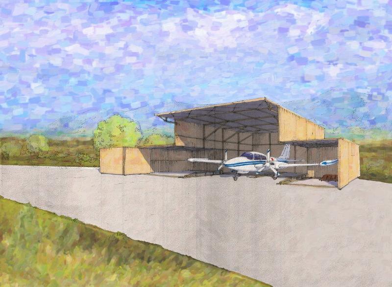 Indian Dunes Hangar