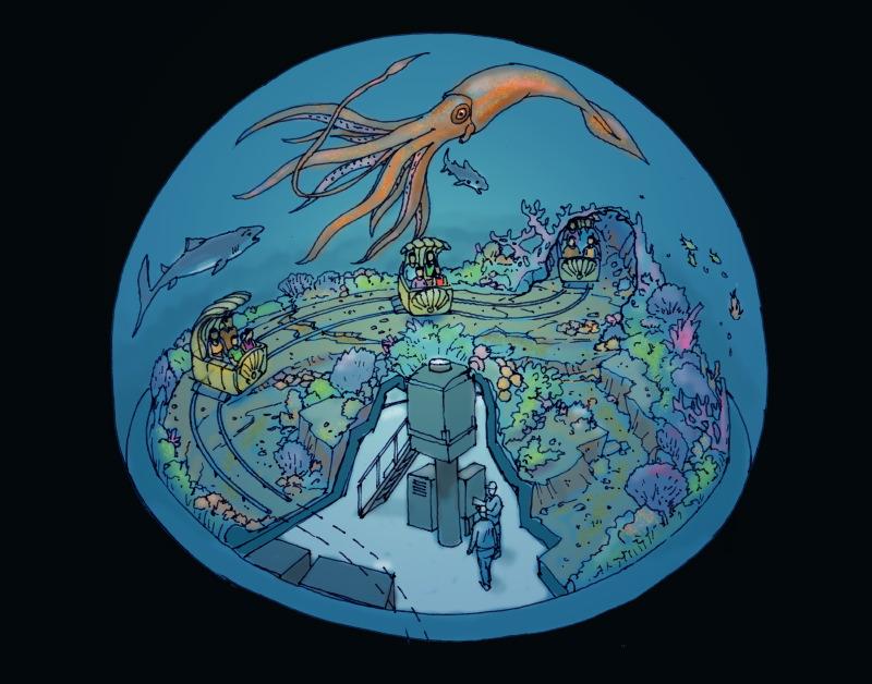Aquarium Sea Ride