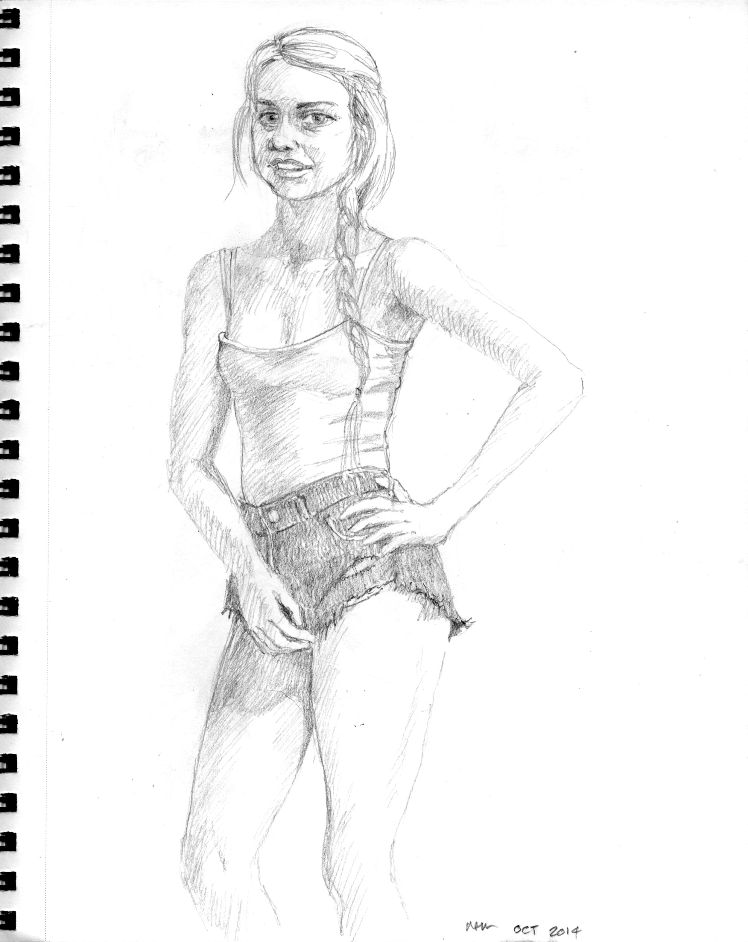 October 2014 sketches