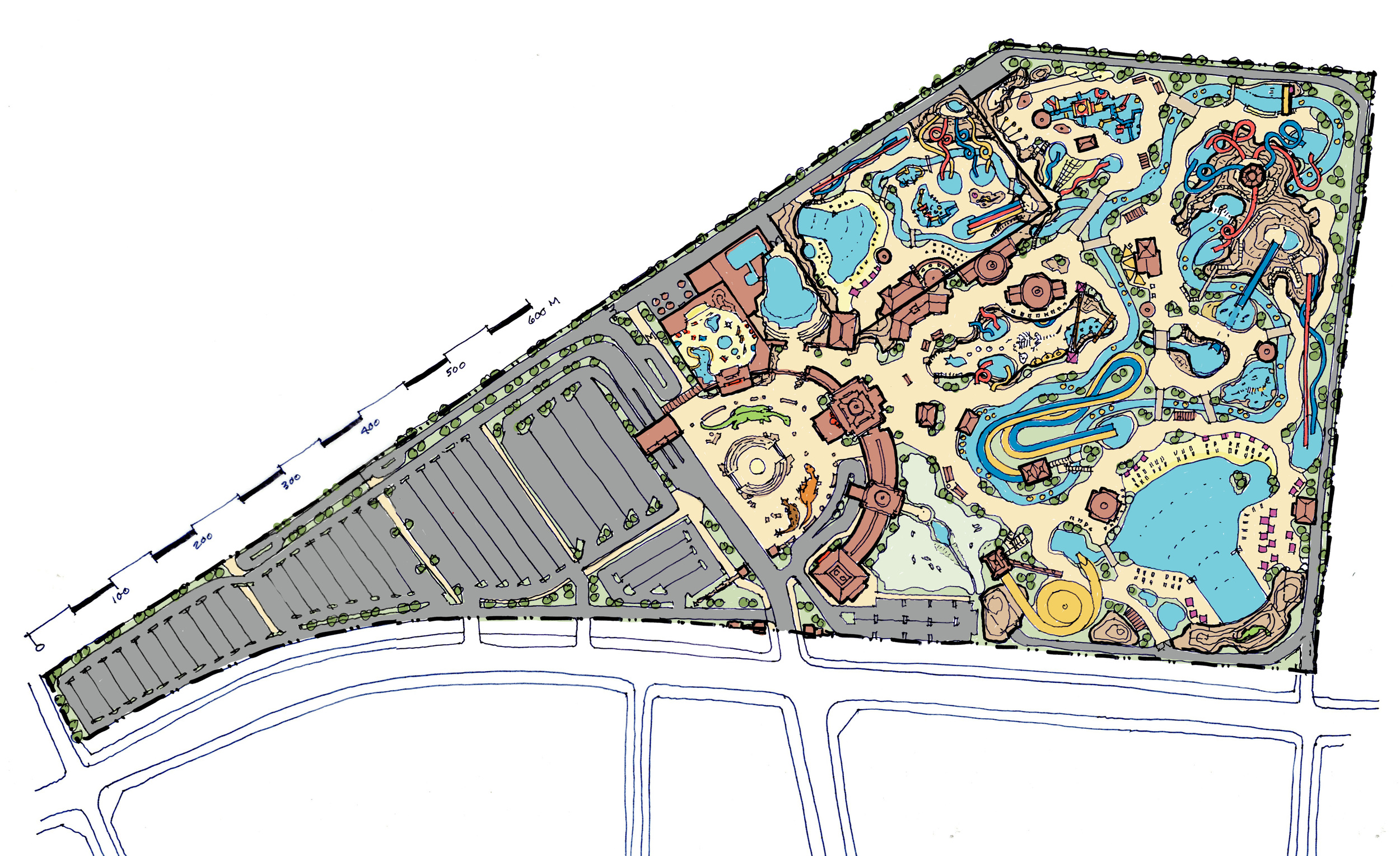 Tialing Lost World water park
