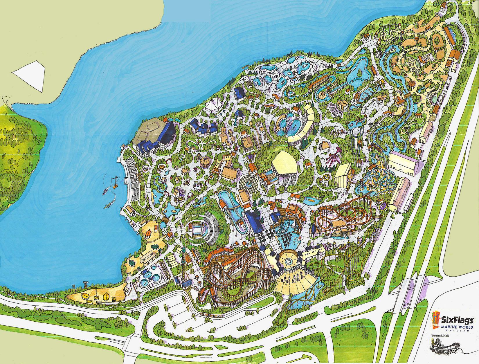 Six Flags Marine World