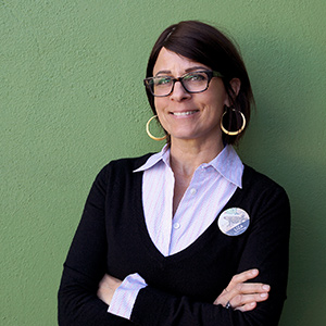 The Co-op's General Manager, Liza Tedesco