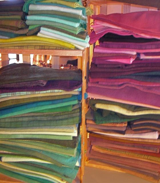 Wool in every hue.....
