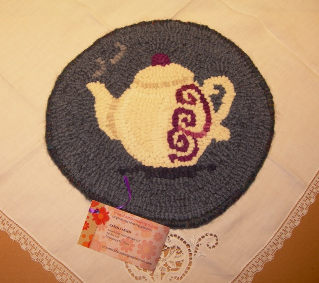 "A Teapot Trivet for the ""First 500"" giveaway."