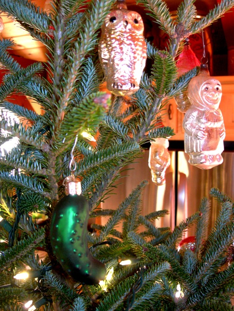 Do you hang a pickle on your tree? Do you know what it means?