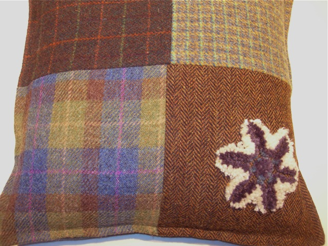The rough texture and beauty of Harris Tweed.