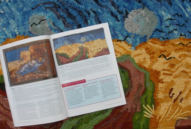 Rug Hooking Magazine, March/Aril/ May 2016.