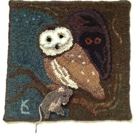 And this Saw whet Owl has a dinner mouse.....