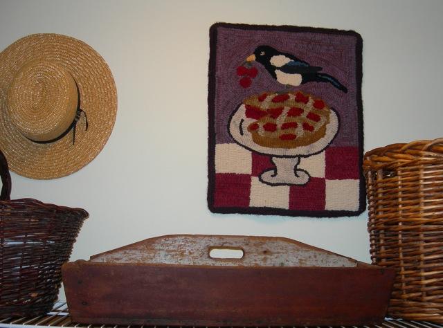 Magpie Cherry Pie hangs in my laundry room.