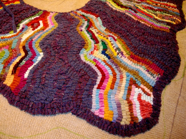 Fun shapes and fun colors make a fun rug!