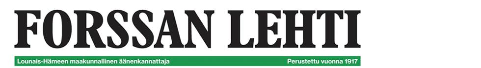 Article - Forssan Lehti 08/10/2016 IN FINNISH