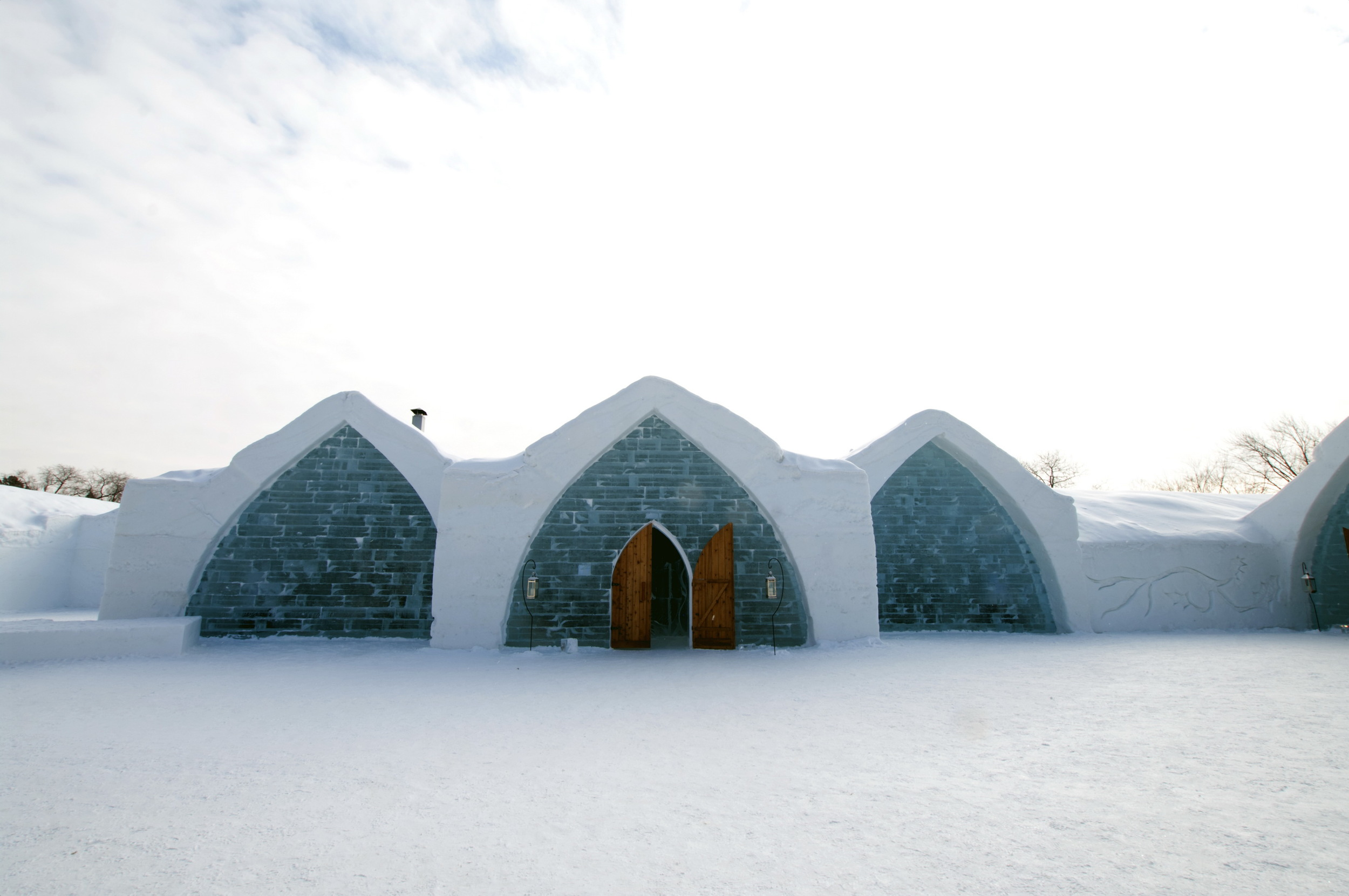 Image property of Hotel de Glace