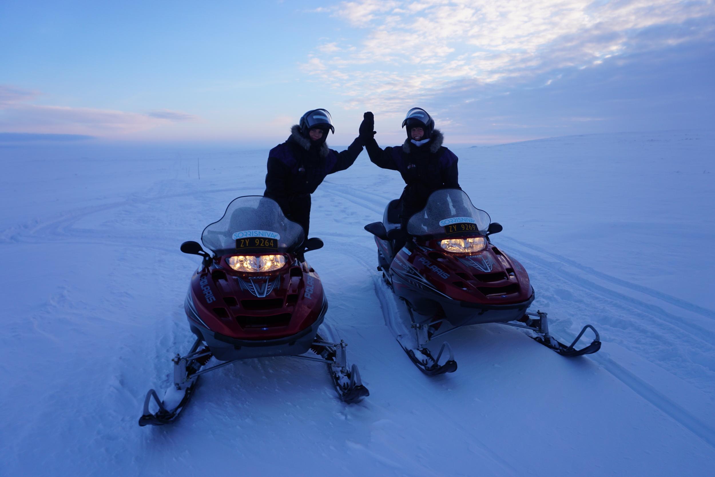 26 Snowmobile safari at the Finnmark Plateau.JPG