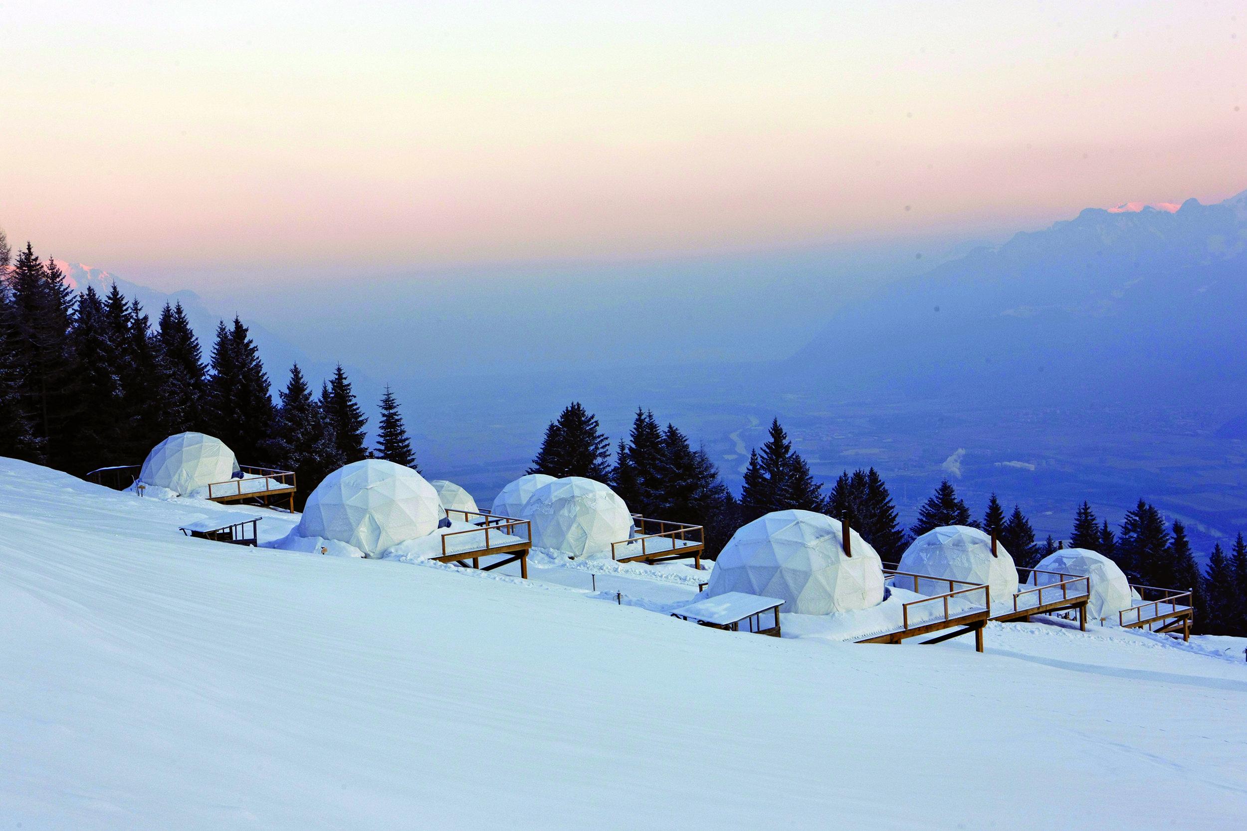 Whitepod Hotel - SWITZERLAND