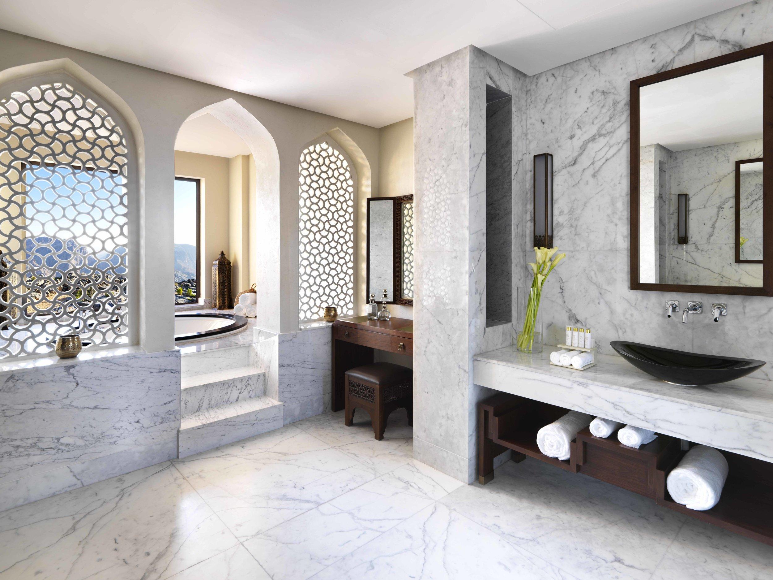 Anantara Al Jabal Al Akhdar Resort - Royal Mountain Villa Master Bathroom.jpg