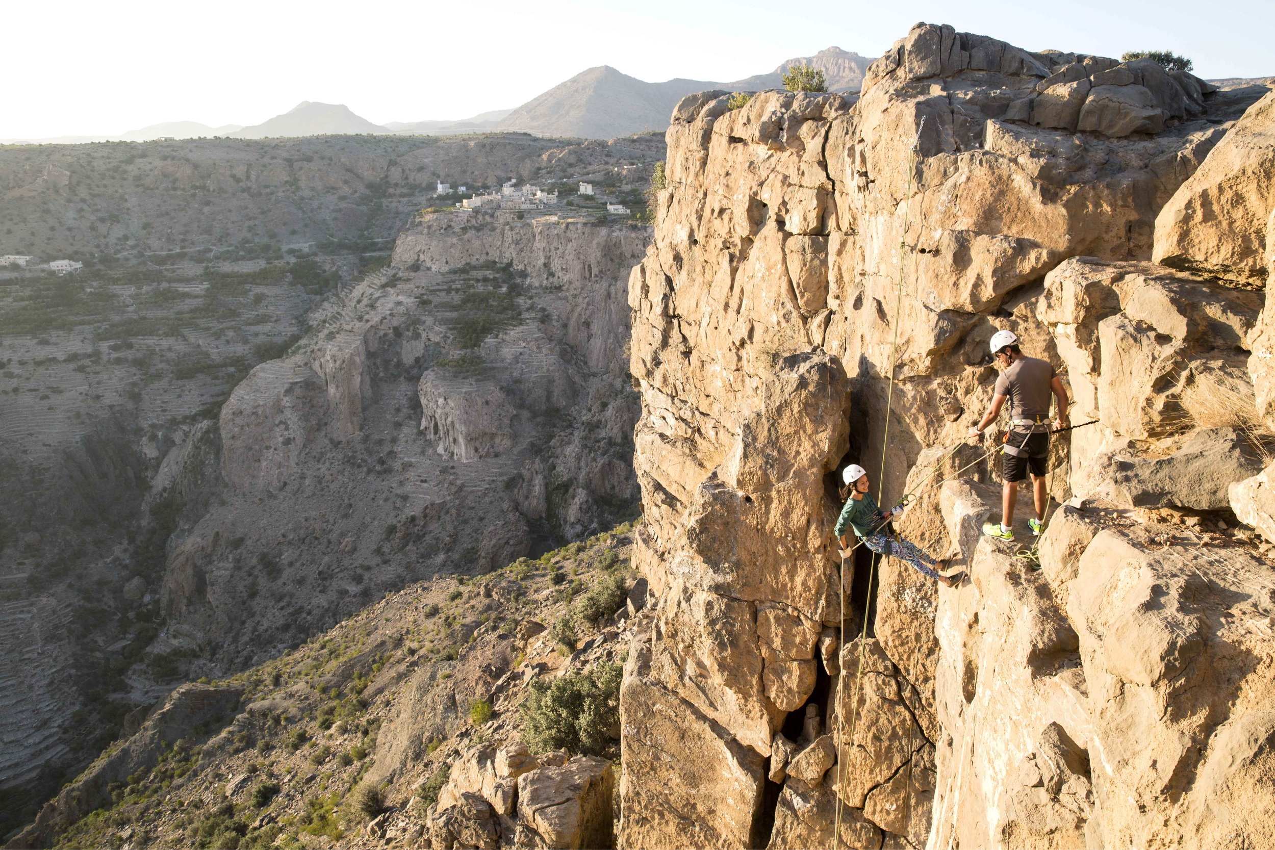 Anantara Al Jabal Al Akhdar Resort - Rock Climbing 02.jpg