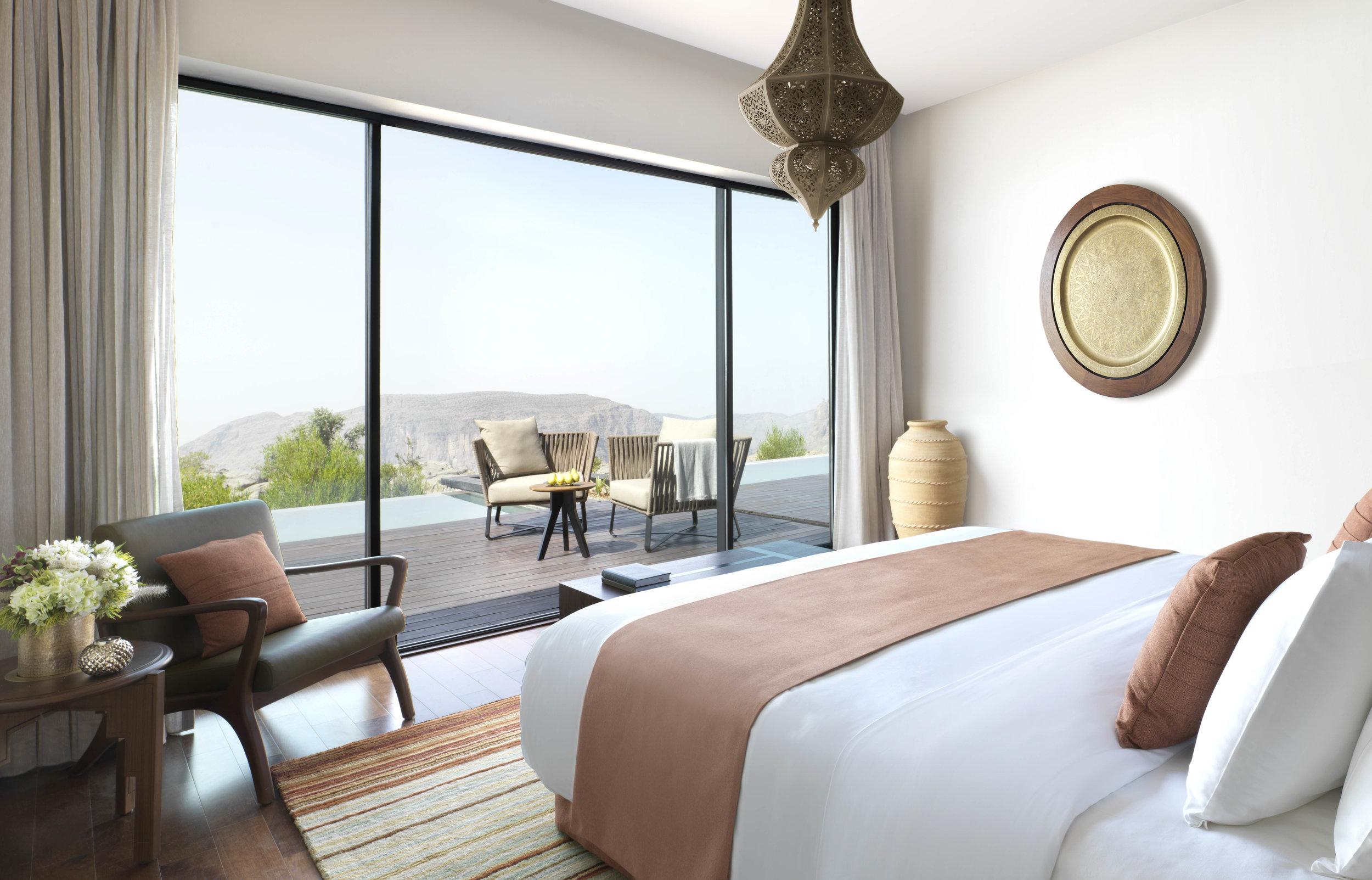 Anantara Al Jabal Al Akhdar Resort - Cliff Pool Villa Bedroom.jpg