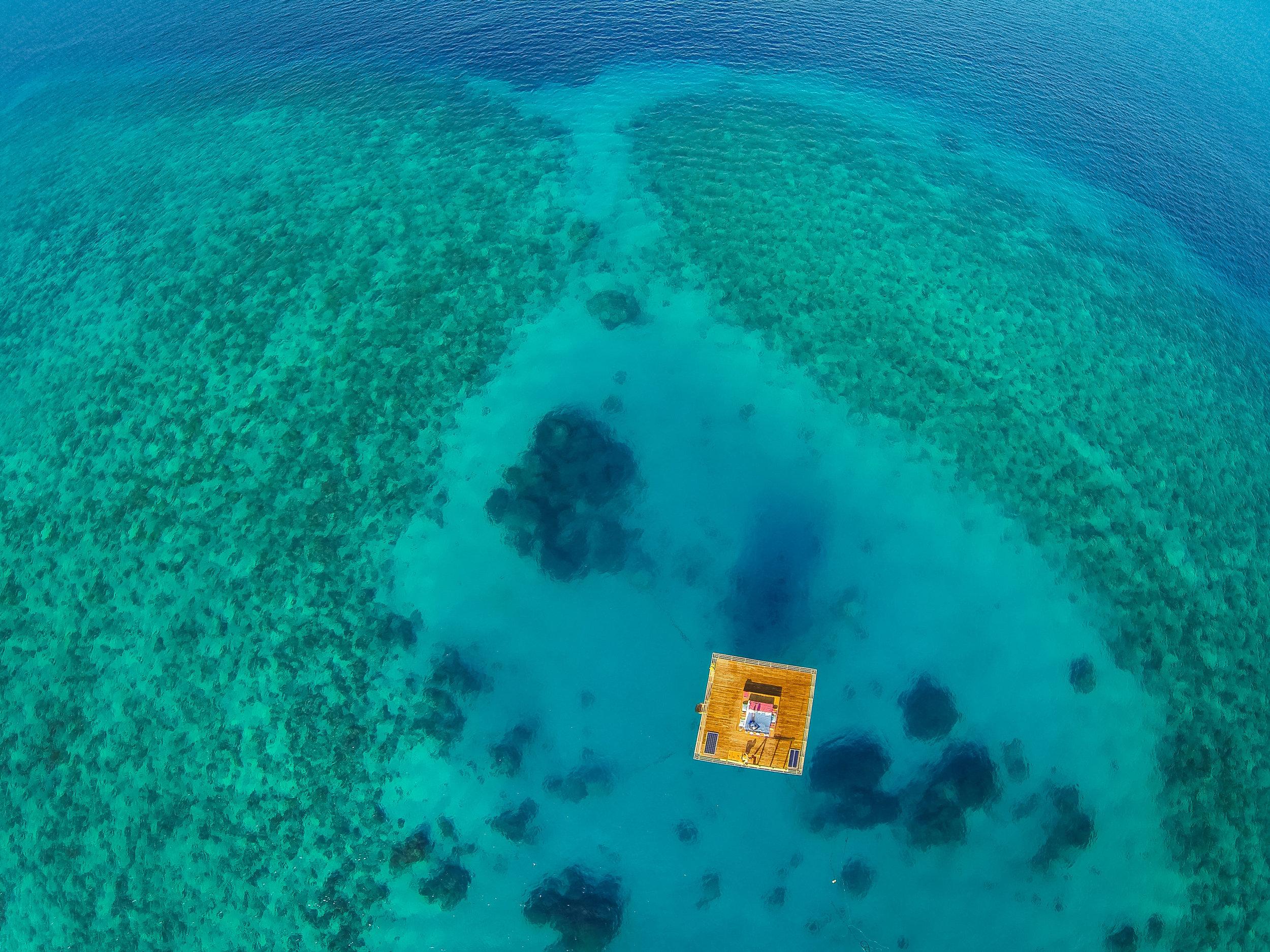 Room + Ocean. Photo property of the Manta Resort.