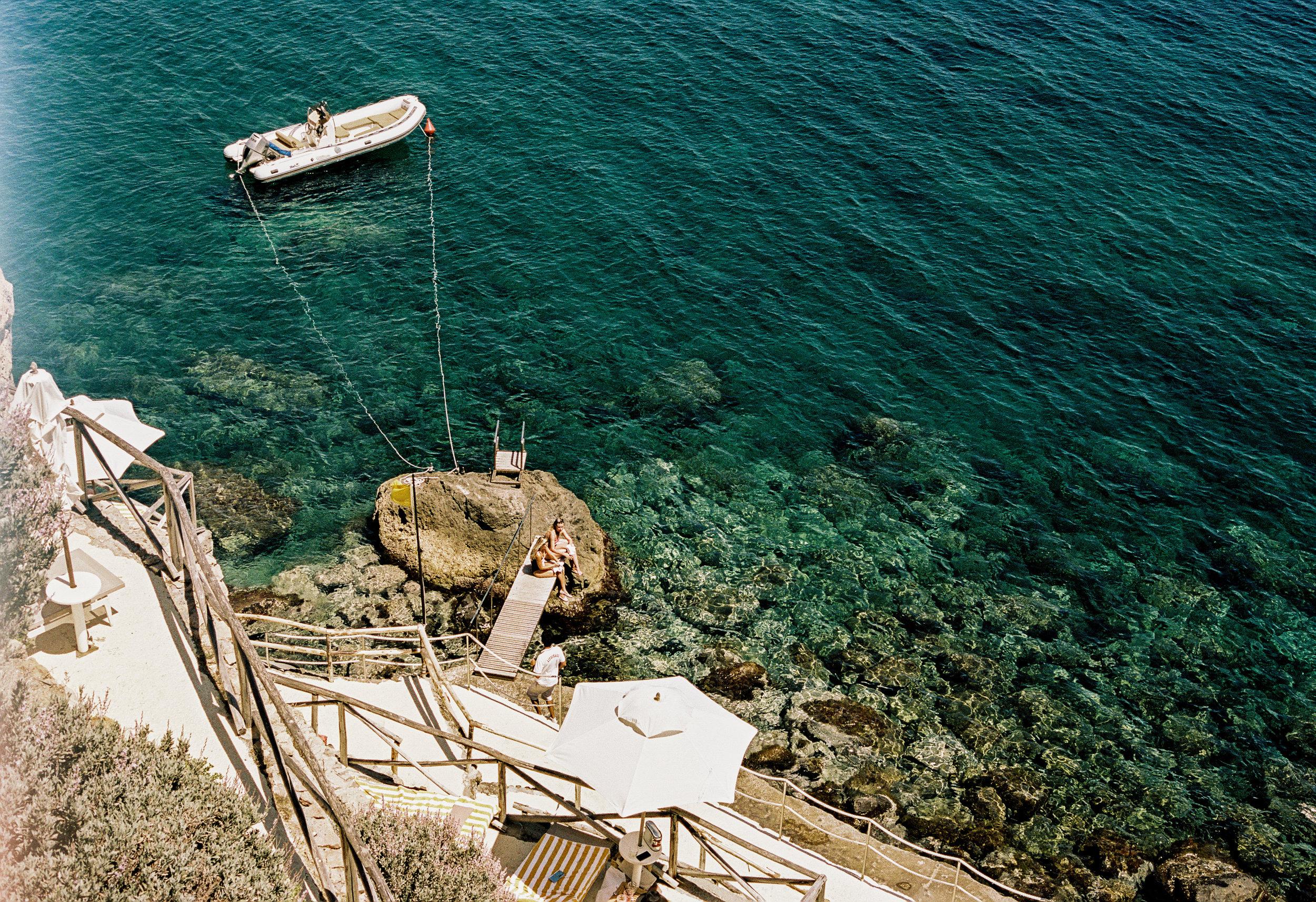 Room + Sea. Photo property of Il Pelicano.